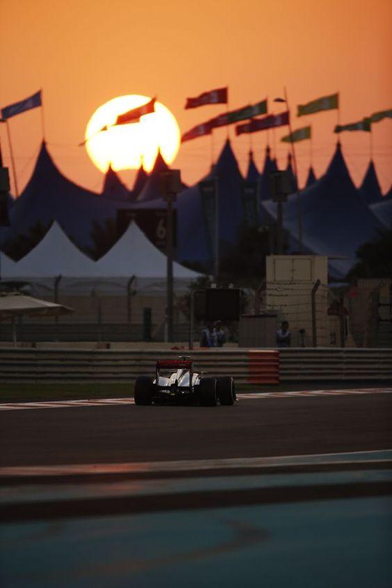 McLaren Fórmula 1 - Abu Dabi
