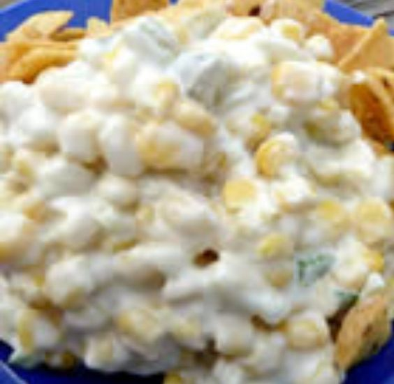 Corn dip, Mexican corn dip and Dips on Pinterest