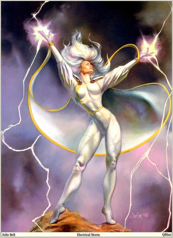 * Julie Bell - - - Electrical Storm