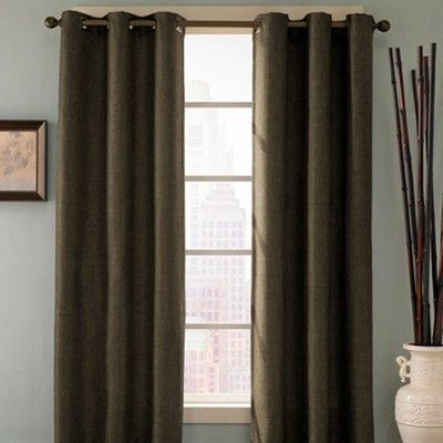 Curtains Ideas bed bath and beyond drapes and curtains : Details about BED BATH HOME REINA GROMMET CURTAIN PANEL DRAPES NEW ...