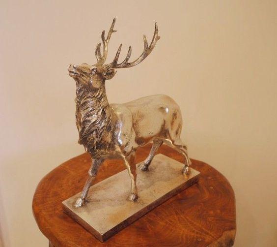 Stag Deer Reindeer Antlers And Diy Home Decor On Pinterest