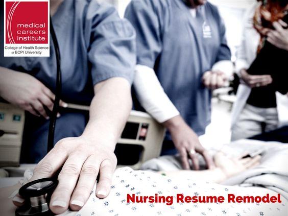 Nursing Resume Remodel #Nursing #Resume #MedicalCareersInstitute - key words to use in a resume