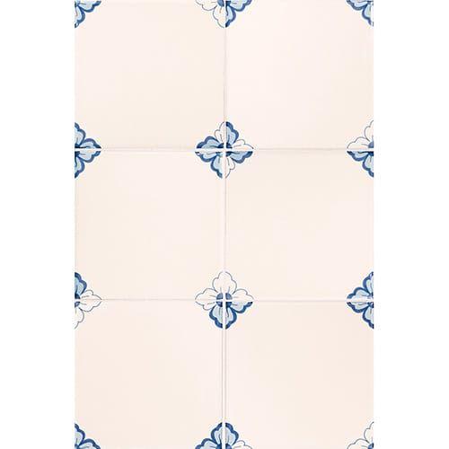 Gelosia Blanc Glazed Ceramic Tiles 6x6 Country Floors Of America Llc In 2020 Glazed Ceramic Tile Glazed Ceramic Ceramic Tiles