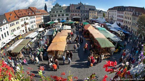 Deutschland Weimarer Zwiebelmarkt