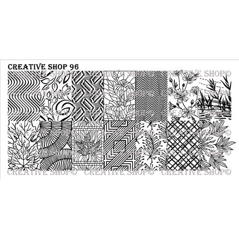 Creative Shop- Stamping Plate- 96