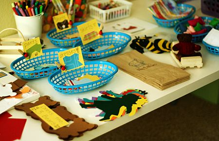 Activities for a Goldilocks party