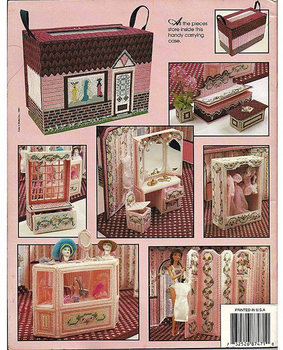 Fashion Doll La Boutique Plastic Canvas Pattern Annies Attic 87d71 Plastic Canvas Canvases