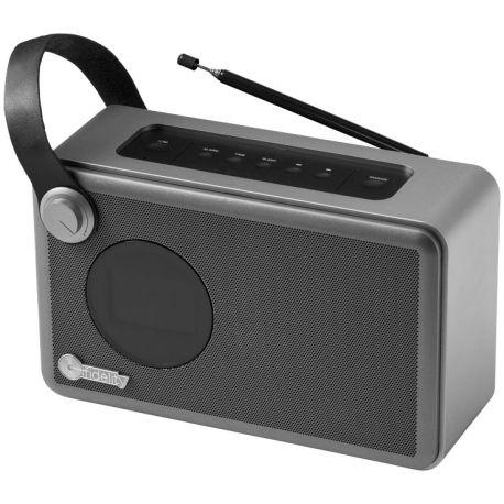 Radio réveil personnalisable Whirl - haut-parleur publicitaire