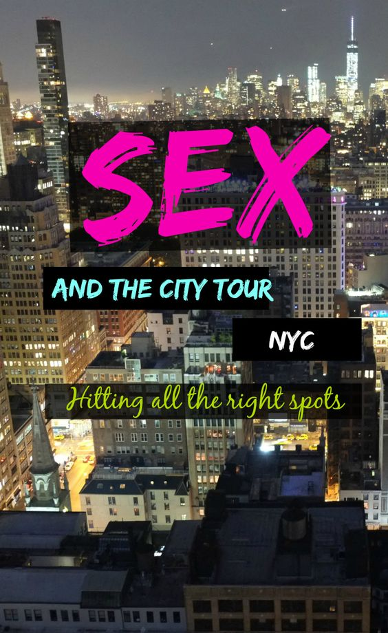 Sex And The City Tours 70