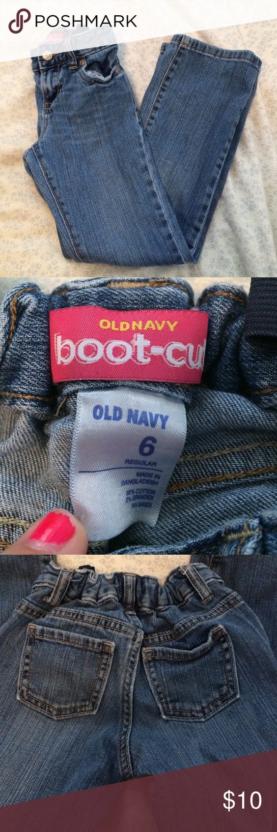 Old navy girl's size 6 Old navy girl's size 6 Old Navy Bottoms Jeans