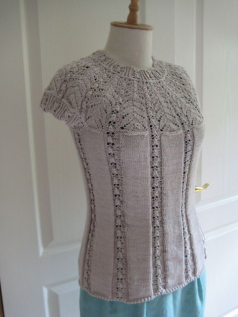Yoke Knitting Pattern : Ravelry, Libraries and Casual on Pinterest