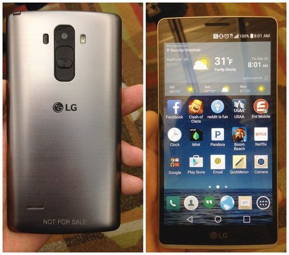 Novas fotos revelam variação do LG G4
