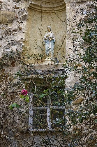 thelittlefrenchbullblog:  Madonna by the Window, Roquebrune (by Rita Crane Photography)