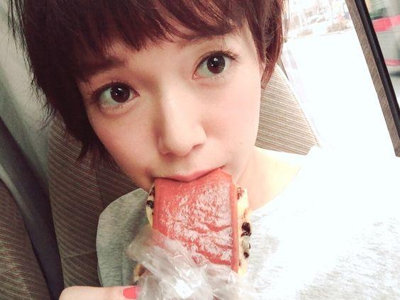 佐藤栞里の食べ物