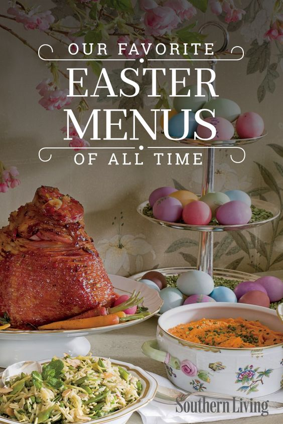 Our Favorite Easter Menus of All Time