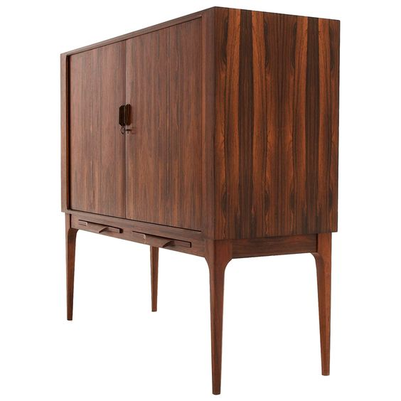 Danish Rosewood Liquor Cabinet Danishes Furniture And
