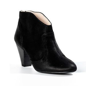 Nelva Stacked Bootie Black, $79, now featured on Fab.