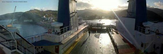 Morning, New Harbour View, 2014  |  #Ai #Stratis #Αγιος #Ευστρατιος