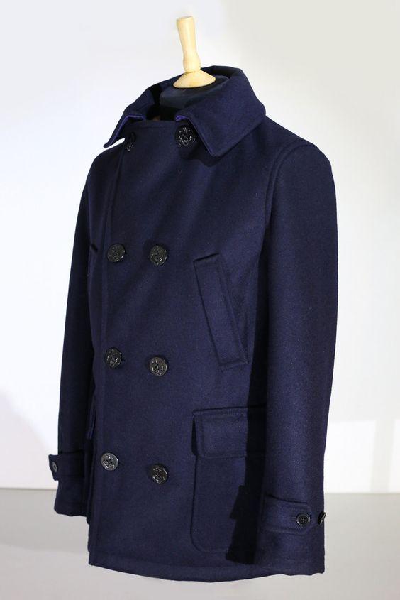 Maritime Pure Wool Pea Coat - Shackleton Company - 2 | wardrobe
