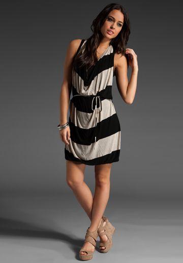 Ella Moss Montana stripe dress