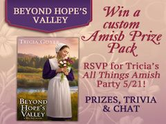 Enter my contest and win a custom Amish Prize Pack! #Amish doll, #Amish basket and more!