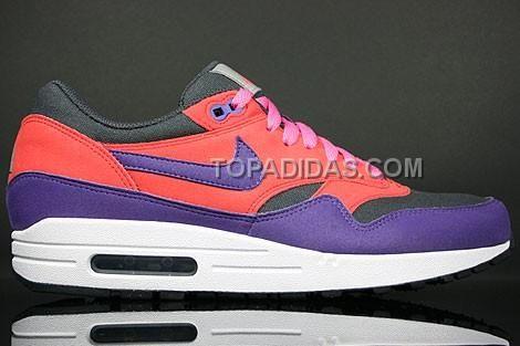 mens nike air max 1 red purple