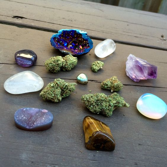 So Young So High - enticingdisaster:   weed and crystals ✨