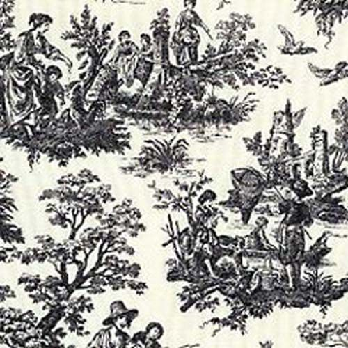 Waverly Country Life Black Toile Home Decorating Fabric Texas Susannie S Waverly Fabric Toile Fabric Black Toile