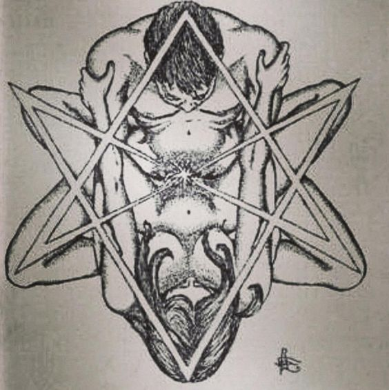 The true meaning of the hexagram.  An esoteric symbol which is venerated by the freemasons (square and compass form this). Every symbol has a deeper, esoteric meaning.