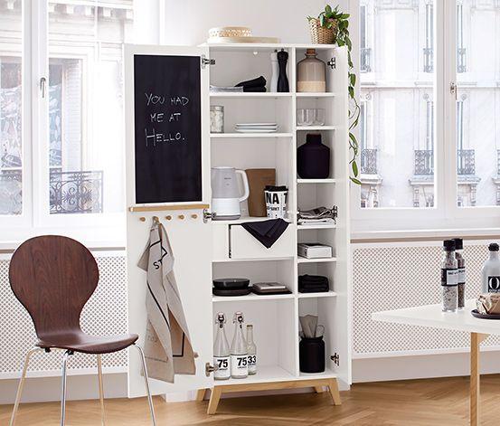 Dieser Schrank Aus Unserer Nordic Serie Bereichert Mit Seinem Klaren Skandinavischen Design Jede Kuche Und Er Lasst Si Schrank Skandinavisches Design Tchibo