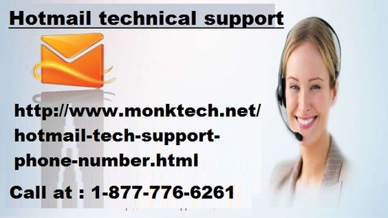 Looking For Hotmail technical support Where you resolve all issues such as login issue, password change, Hotmail account etc, So Call at 1-877-776-6261 toll-free number and resolve all issues.http://www.monktech.net/hotmail-tech-support-phone-number.html