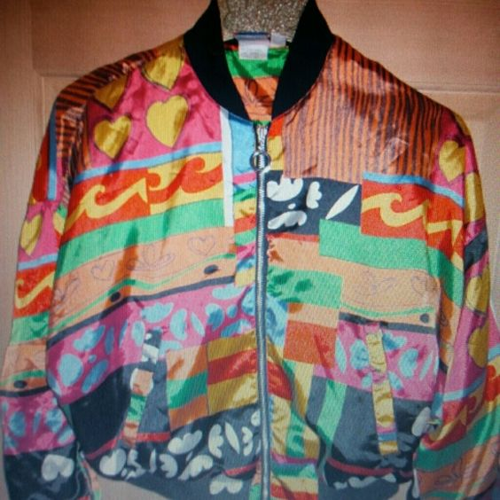 Vintage 80's Jacket Great for parties! Jackets & Coats