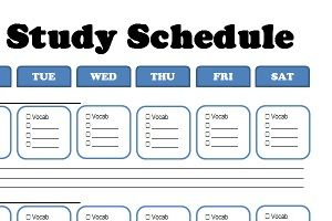 One Month ACT Study Schedule | Tristan | Pinterest | Act ...