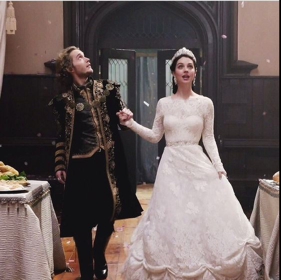 Francis and mary 39 s wedding reign pinterest wedding for Last season wedding dresses