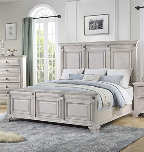 New Cambridge Heritage Light Wash Queen Size Bed Frame Online In