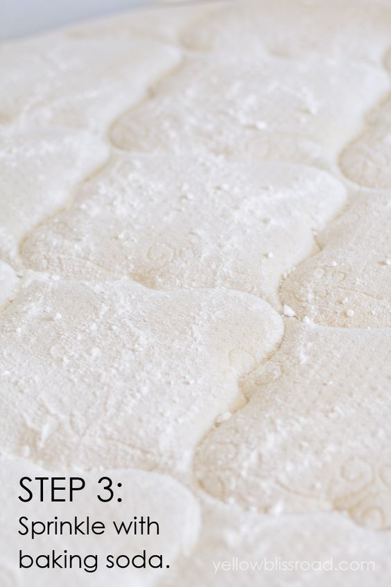 How to Clean Urine Stains from a Mattress Step 3