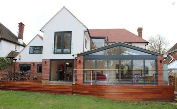 extension google modern houses and extension ideas on