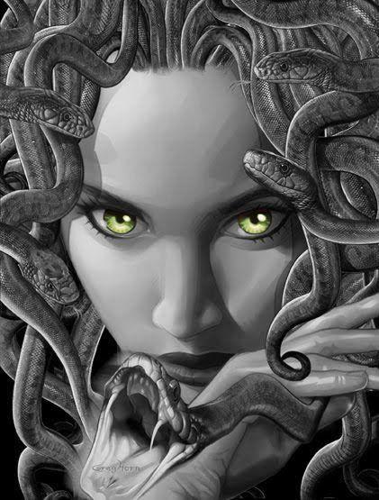 Pin De Jeff Standley En Medusan Mitología Griega Medusa Tatuajes Mitologia Griega Mitología
