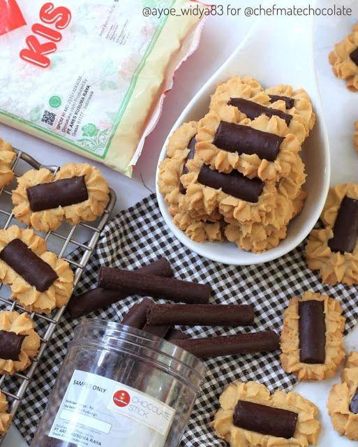 Semprit Ini Memadukan Rasa Coklat Dan Kopi Jadi Satu Enak Banget Resep Spesial Kue Kering Kue Lezat Makanan Ringan Manis