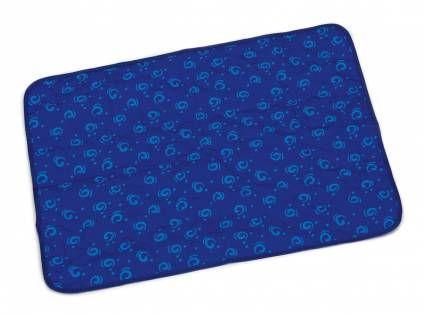 Hundedecken & Möbelbeeztees - Quick Cooler Aqua Kühlmatte für Hunde -blau-, -M- (75 x 48 cm)