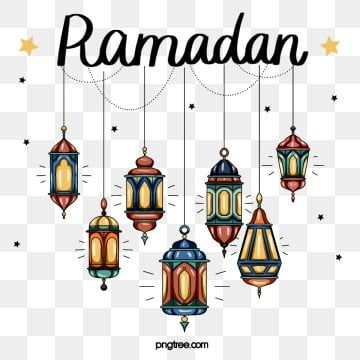 Ramadan Festival Elements In Hand Drawn Style Ramadan Moon Cartoon Png Transparent Clipart Image And Psd File For Free Download Print Design Template Ramadan Photos Ramadan Images