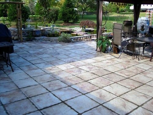 Stone Walls Stepping Stones And Diy Patio On Pinterest