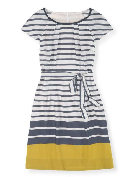 Dear Stitch Fix Stylist: The more I see gray and yellow together, the more I dig the combination. This is a color combo I'd like to try. --xoxo, Kimberly   Easy Day Dress WH779 Day Dresses at Boden