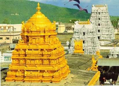 The Tirumala Venkateswara Temple is one of the richest temples in India that is located in Chitoor district, Andhra Pradesh.