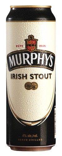 Cerveja Murphy's Draught Irish Stout, estilo Dry Stout, produzida por Murphy´s, Irlanda. 4% ABV de álcool.