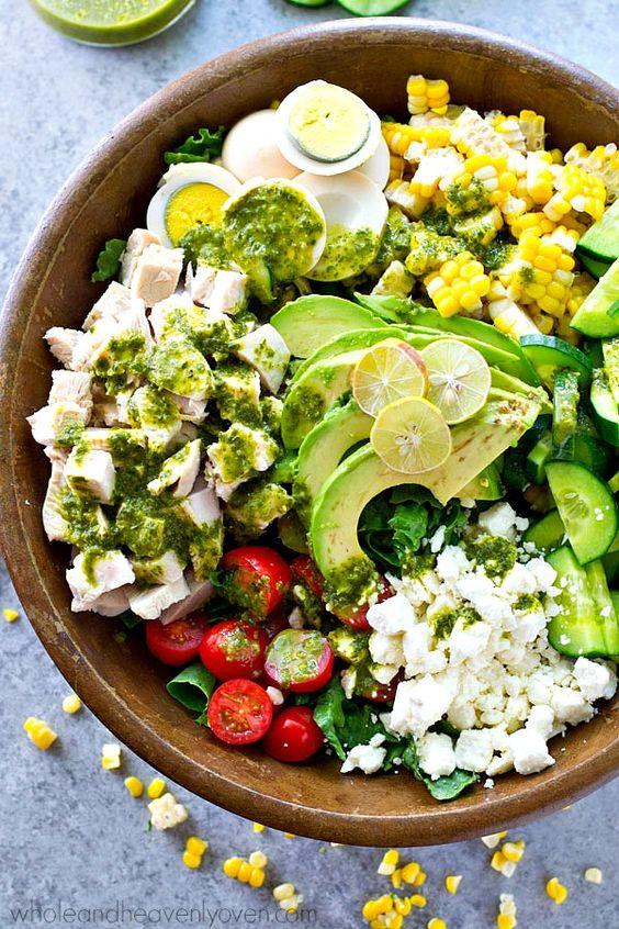 ... Salad | Recipe | Cobb Salad, Green Goddess and Green Goddess Dressing