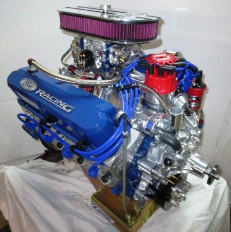 302 Ford 350 Hp W Aod 4 Speed Transmission Kit Crate Engines