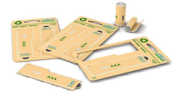 【紙電池】終極的環保電池,紙做的電池 | 3C滔客:與您 Talk 科技新鮮事 | 3C.Talk.Tw 線上數位雜誌