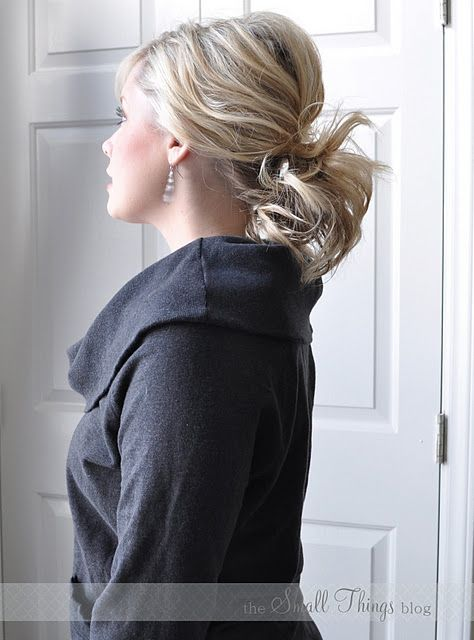 Perfect ponytail (not the kind you wear to the gym!)