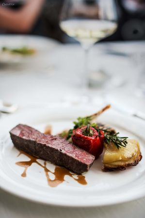 Steak, Kartoffelgratin, Hotel Hohenwart, Reise, lecker, Südtirol, kulinarische Reise, Reisen